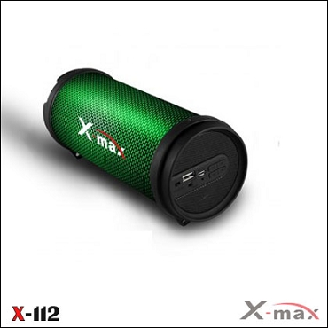 BLUETOOTH SPEAKERS  X-112L X-MAX LIGHT BLACK