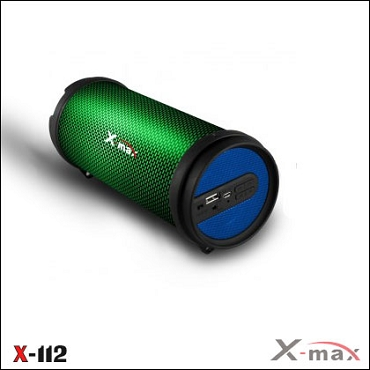 BLUETOOTH SPEAKERS X-112L X-MAX LIGHT BLUE