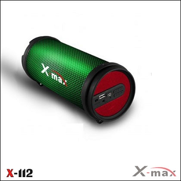 BLUETOOTH SPEAKERS  X-112L X-MAX LIGHT RED