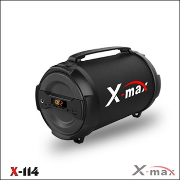 BLUETOOTH SPEAKERS X-MAX X-114 MAGNUM BLACK