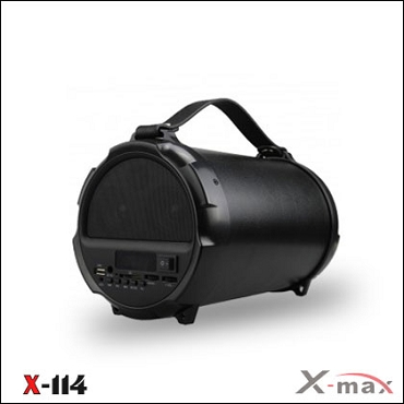 BLUETOOTH SPEAKERS X-114 X-MAX BLACK