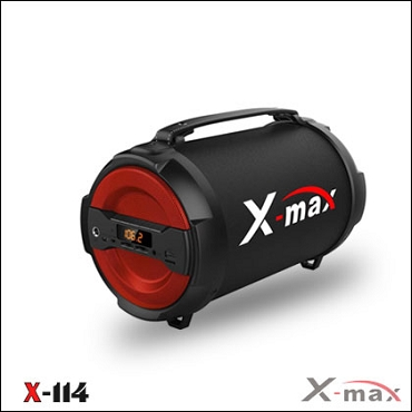 BLUETOOTH SPEAKERS X-MAX X-114 MAGNUM RED