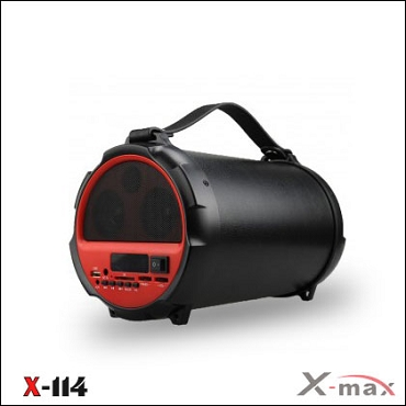 BLUETOOTH SPEAKERS  X-114 X-MAX RED