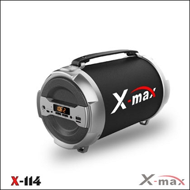 BLUETOOTH SPEAKERS X-MAX X-114 MAGNUM GRAY