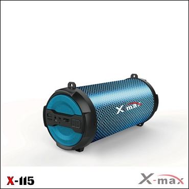 SPEAKER WIRELESS X-MAX X-115 MAGNUM LIGHT BLUE