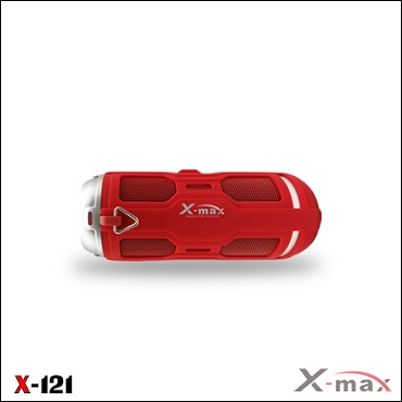 WIRELESS SPEAKER WATER PROOF IPX6 X-121 RED