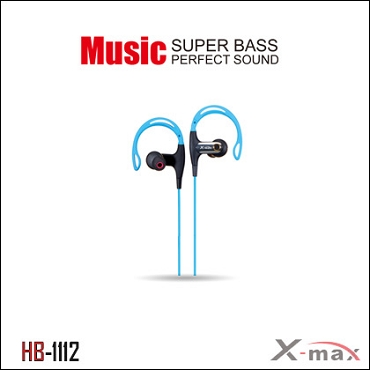 Wireless Headset X-max model HB-1112 Color blue