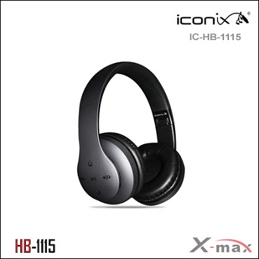Wireless Headset X-max  model HB-1115   Color GRAY