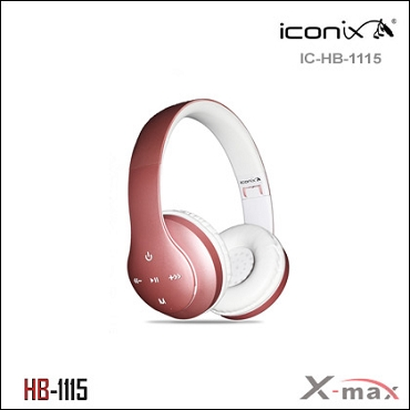 Wireless Headset X-max  model HB-1115   Color ROSEGOLD