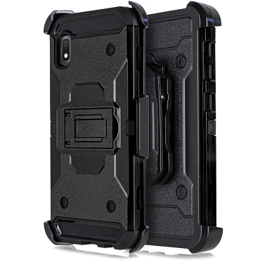 A10E - RUBBER HOLSTER CASE - BLACK