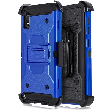 A10E - RUBBER HOLSTER CASE - BLUE