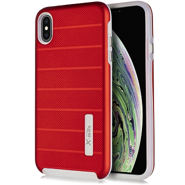 IPHONE X / XS - FUSION PROTECTOR CASE - RED