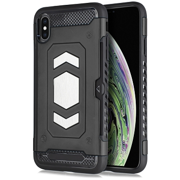 IPHONE X / XS - SLIDE MAGNET - BLACK