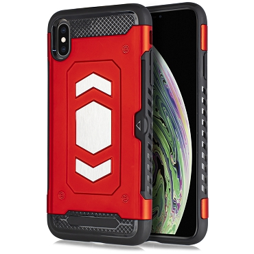 IPHONE X / XS - SLIDE MAGNET - RED