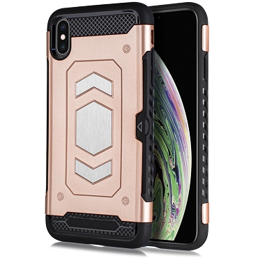IPHONE X / XS - SLIDE MAGNET - ROSE GOLD