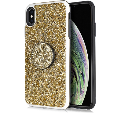 IPHONE XR - DIAMOND STAND - GOLD