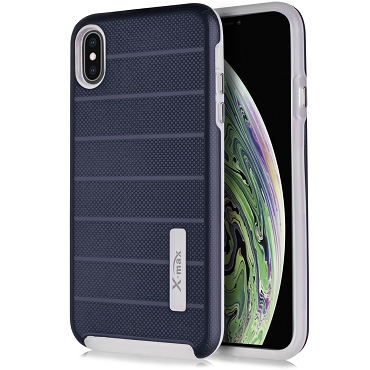 IPHONE XR - FUSION PROTECTOR CASE - NAVY BLUE