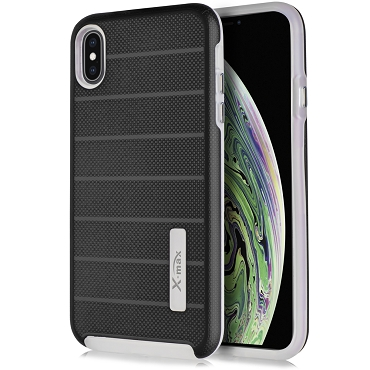 IPHONE XS MAX - FUSION PROTECTOR CASE - BLACK