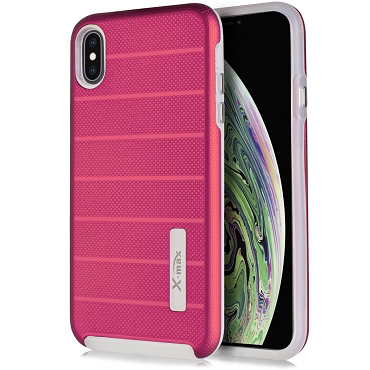 IPHONE XS MAX - FUSION PROTECTOR CASE - PINK