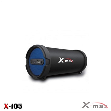 BLUETOOTH SPEAKERS X-105 X-MAX BLUE