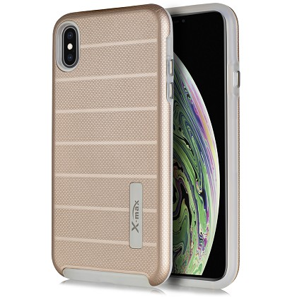 IPHONE X / XS - FUSION PROTECTOR CASE - ROSE GOLD