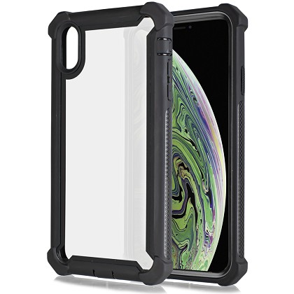 IPHONE XR - CLEAR PROTECT - BLACK