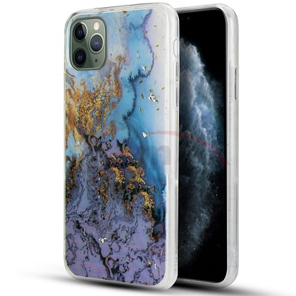 IPHONE 11 PRO MAX - MARBLE DESIGN - PURPLE