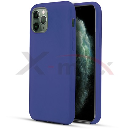 IPHONE 11 PRO - RUBBER CASE - NAVY BLUE
