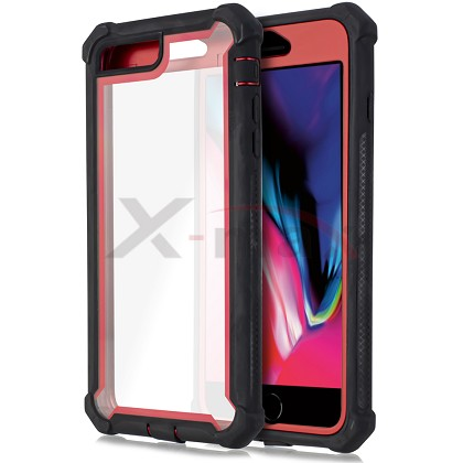 IPHONE 6S PLUS - CLEAR PROTECT - RED