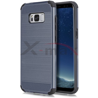 S8 PLUS - BRUSHED LINE - NAVY BLUE