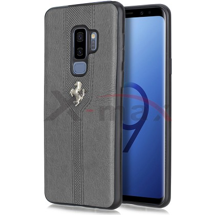 S9 PLUS - LEATHER HORSE CASE - GRAY