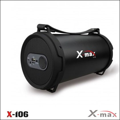 BLUETOOTH SPEAKERS X-106 X-MAX BLACK