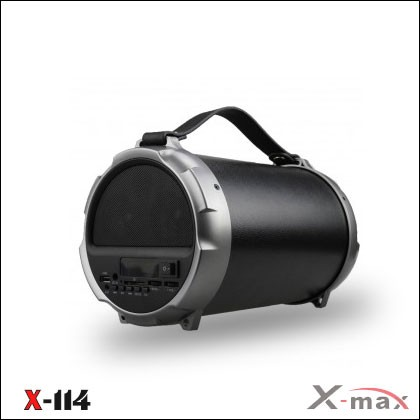 BLUETOOTH SPEAKERS X-114 X-MAX GRAY