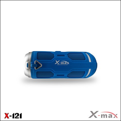 WIRELESS SPEAKER WATER PROOF IPX6 X-121 BLUE