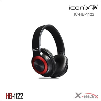 Wireless Headphones Iconix HB1120 RED